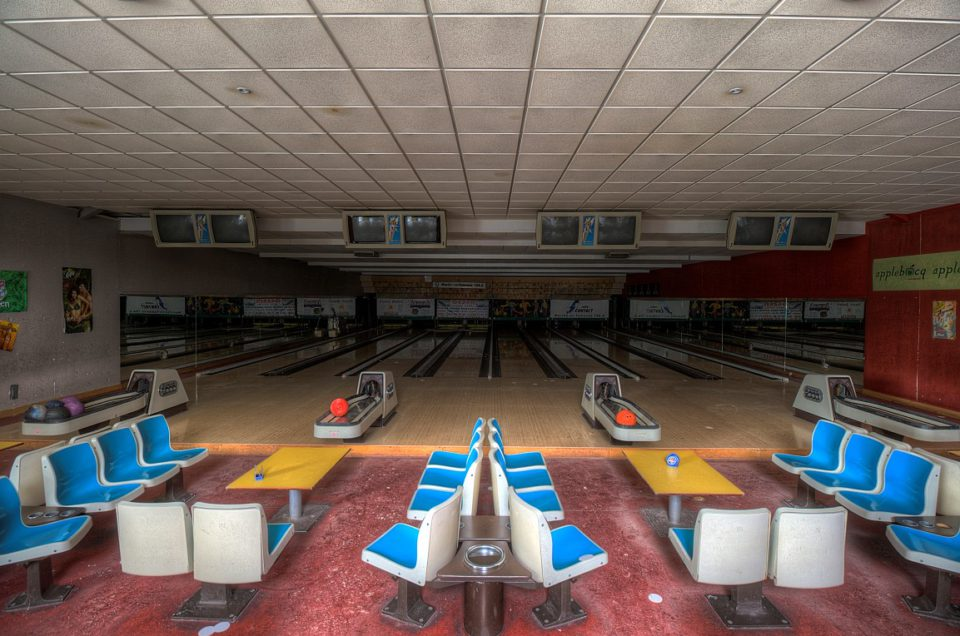 Urbex – Bowling M – Belgie