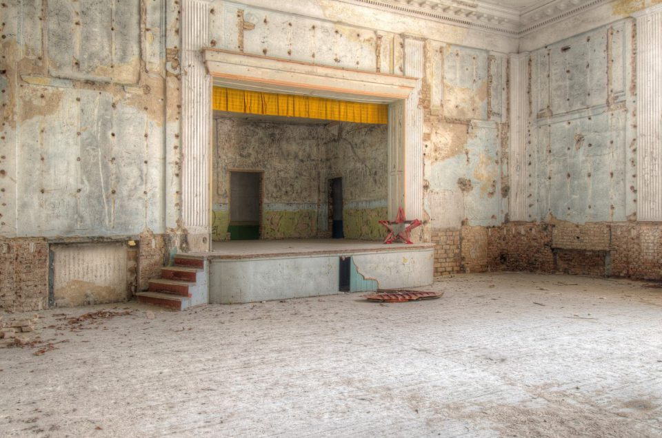 Urbex – Rote Stern Theater – Duitsland