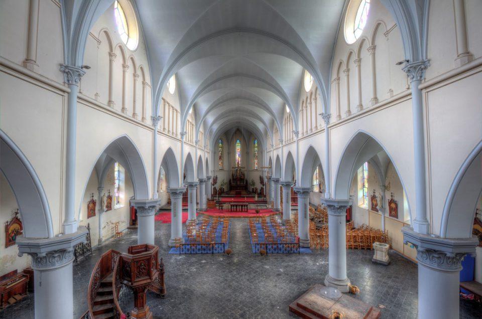 Urbex – Eglise aux Mille Arches – Belgie