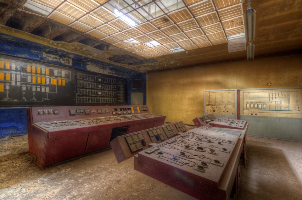 Urbex – Controlroom S – Belgie