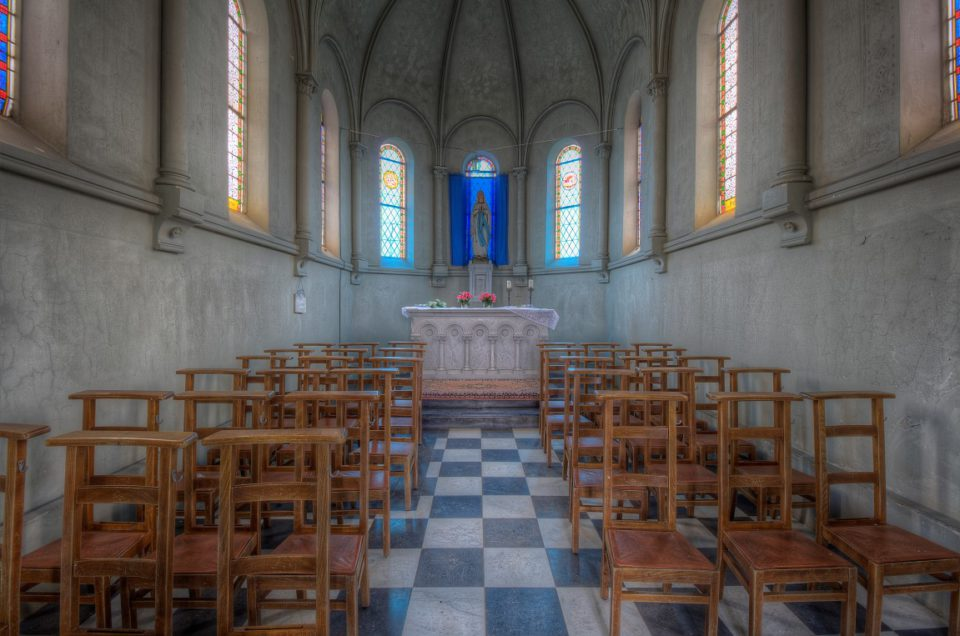 Urbex – Chapelle Mortuaire – Belgie